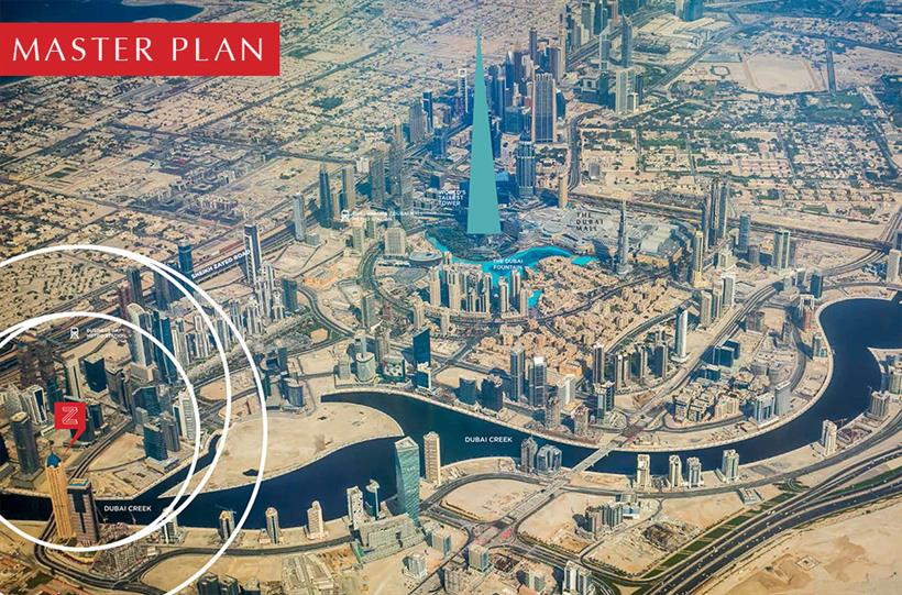 Zada Business Bay Master Plan